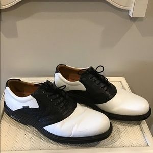 ECCO cleated golf shoes